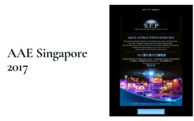 AAE Singapore 2017